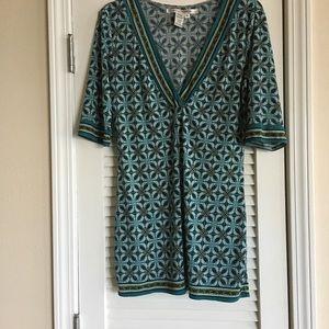 Max Studio V-neck Blouse/Dress Size M